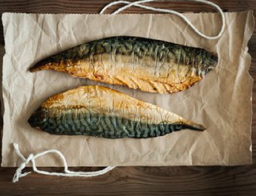 mackerel, smoked mackerel salad