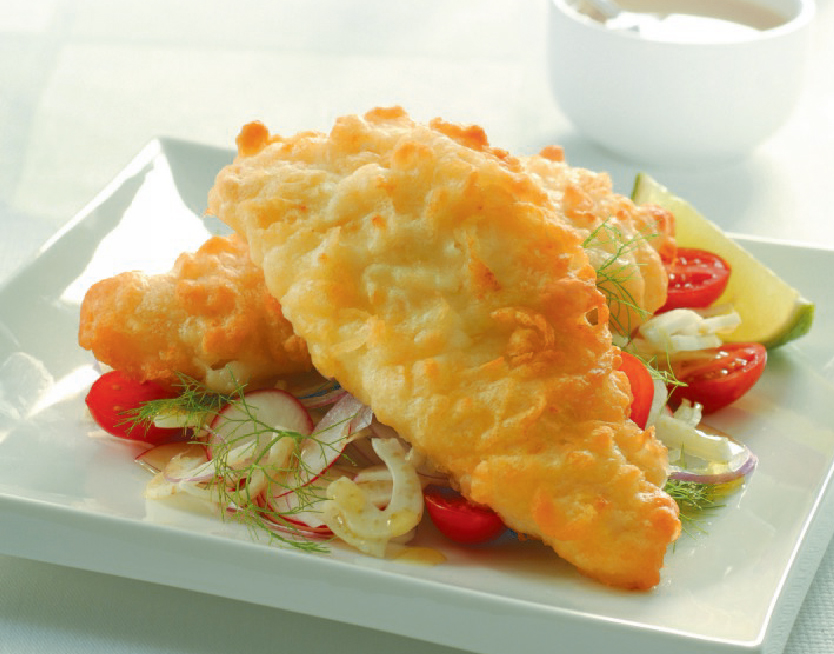 Crispy Battered Cod Fillets - MSC