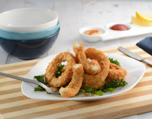 Panko Squid Rings