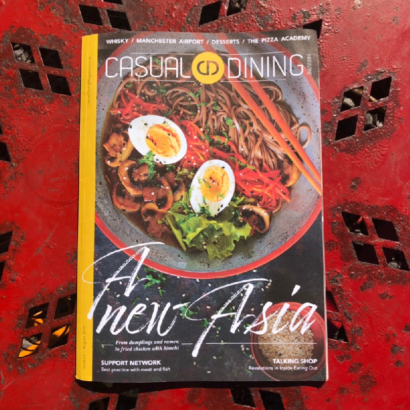 Pacific West featured in Casual Dining magazine