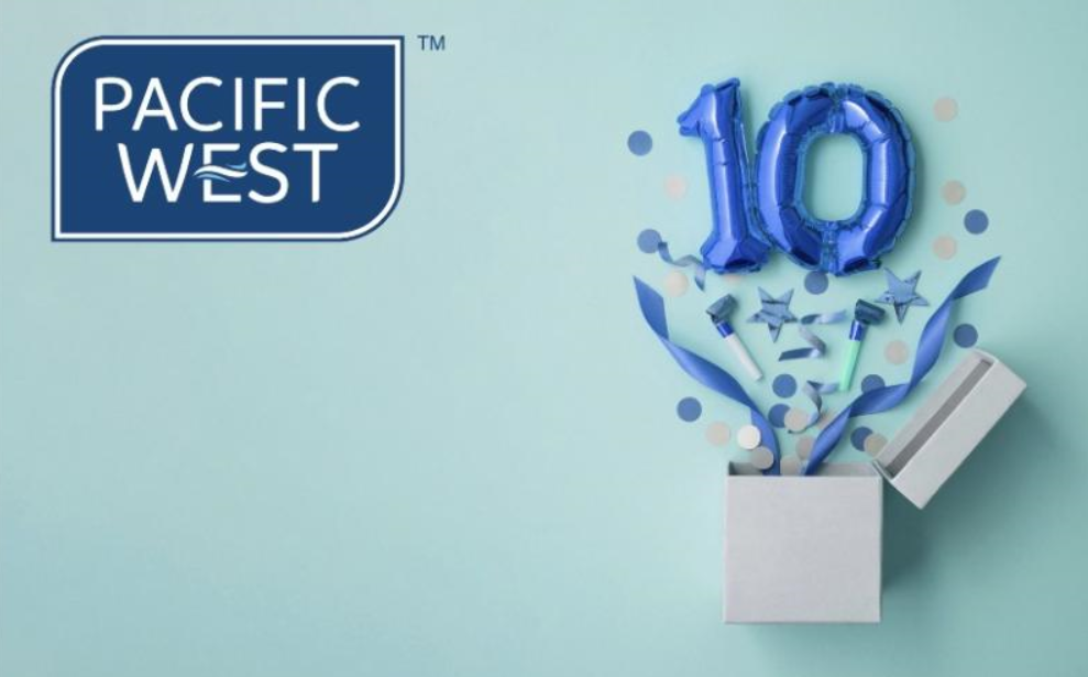 Celebrating 10 years of Pacific West UK