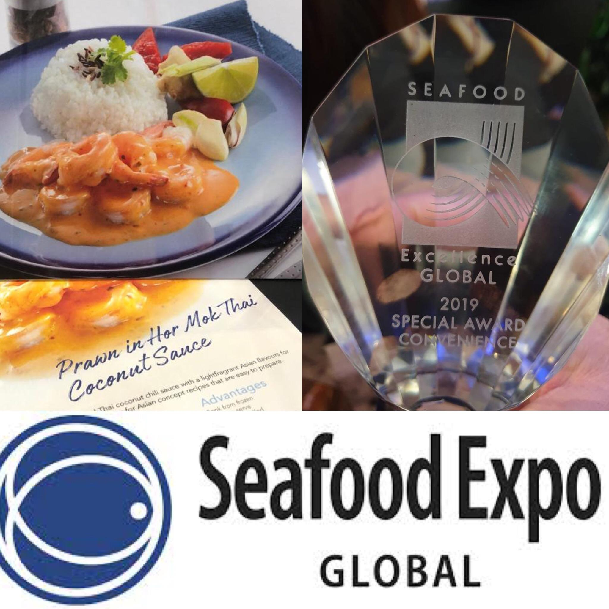 Pacific West award win at The Seafood Excellence Global Awards 2019