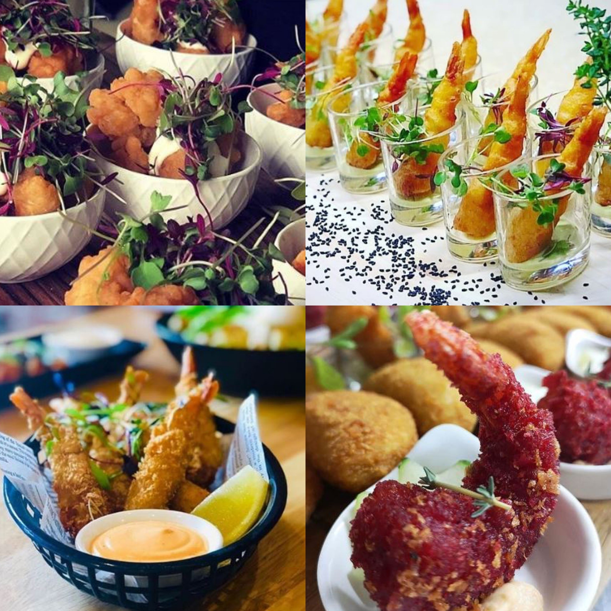 Festive canapes and finger food ideas!